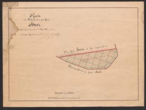 Hüüru mõisa kaart 1892